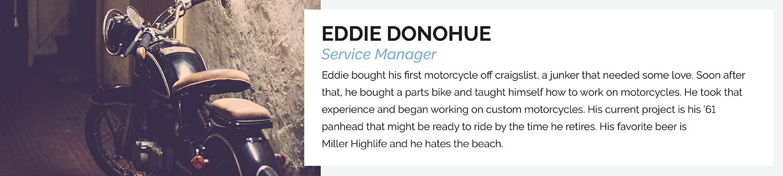-EDDIE DONOHUE